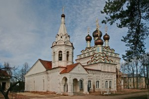 Акатово. Собор Александра Невского Троицкого Александро-Невского монастыря.