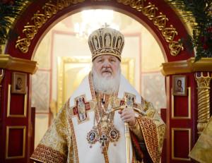 Патриаршее служение в Троицком Александро-Невском монастыре в с. Акатово